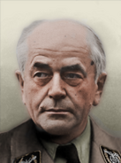 Portrait Germany Albert Speer fascist