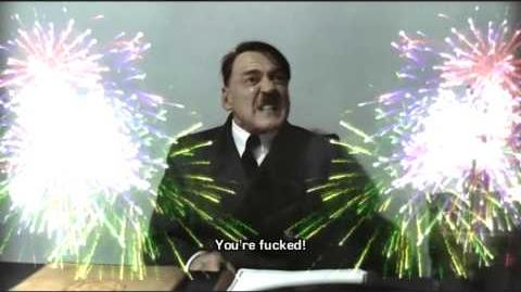 Merriman wishes Hitler a Happy New Year