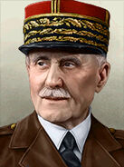 Portrait France Philippe Petain