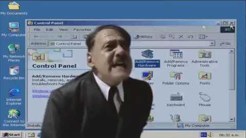 Hitler in Windows 2000