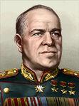 Portrait Soviet Gregory Zhukov