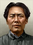 Portrait china mao zedong young