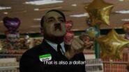 Dollar Store Hitler at cash register