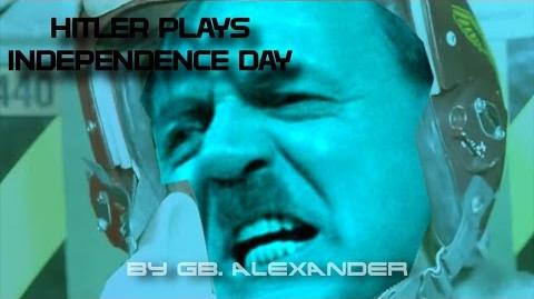 Downfall parody Hitler plays Independence Day (PSX)