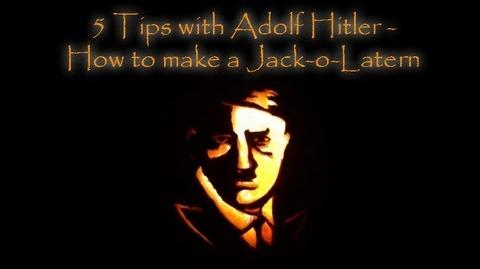 5 Tips with Adolf Hitler - How to make a Jack-o-Lantern