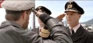 Hartenstein salutes Fegelein