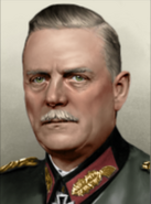 Portrait Germany Mod Wilhelm Keitel