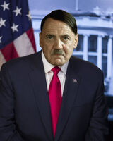President Hitler Official Portrait