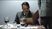 Hitler eating scene