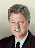 Portrait USA Bill Clinton