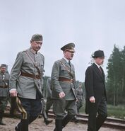 Hitler and Mannerheim