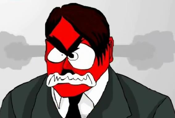 Hitler rage Flash by WonkyTonkBotty