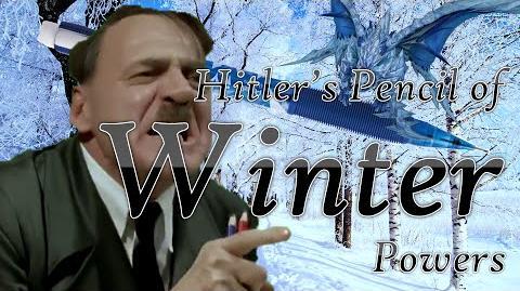 Hitler's Pencil Of Winter Powers