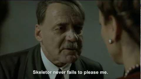 Hitler goes to bed for the 1000th time