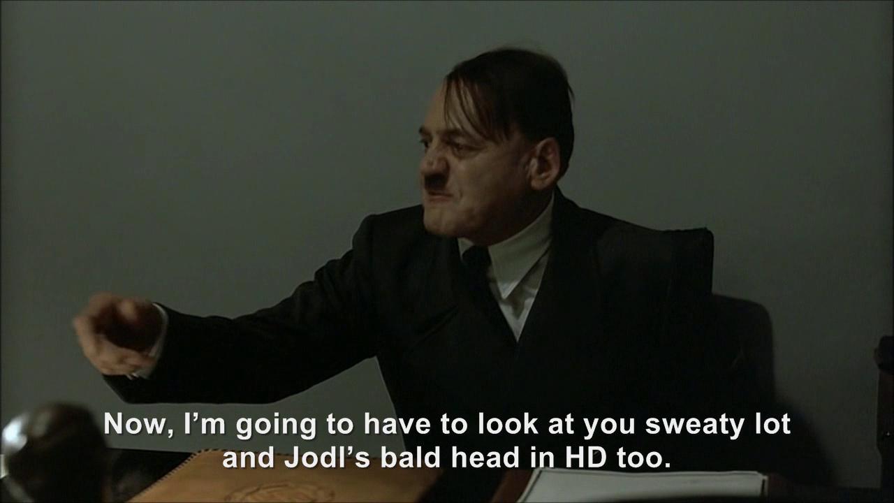 Hitler is informed he's in high definition   Hitler Rants ...