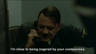 Hitler phones George W. Bush