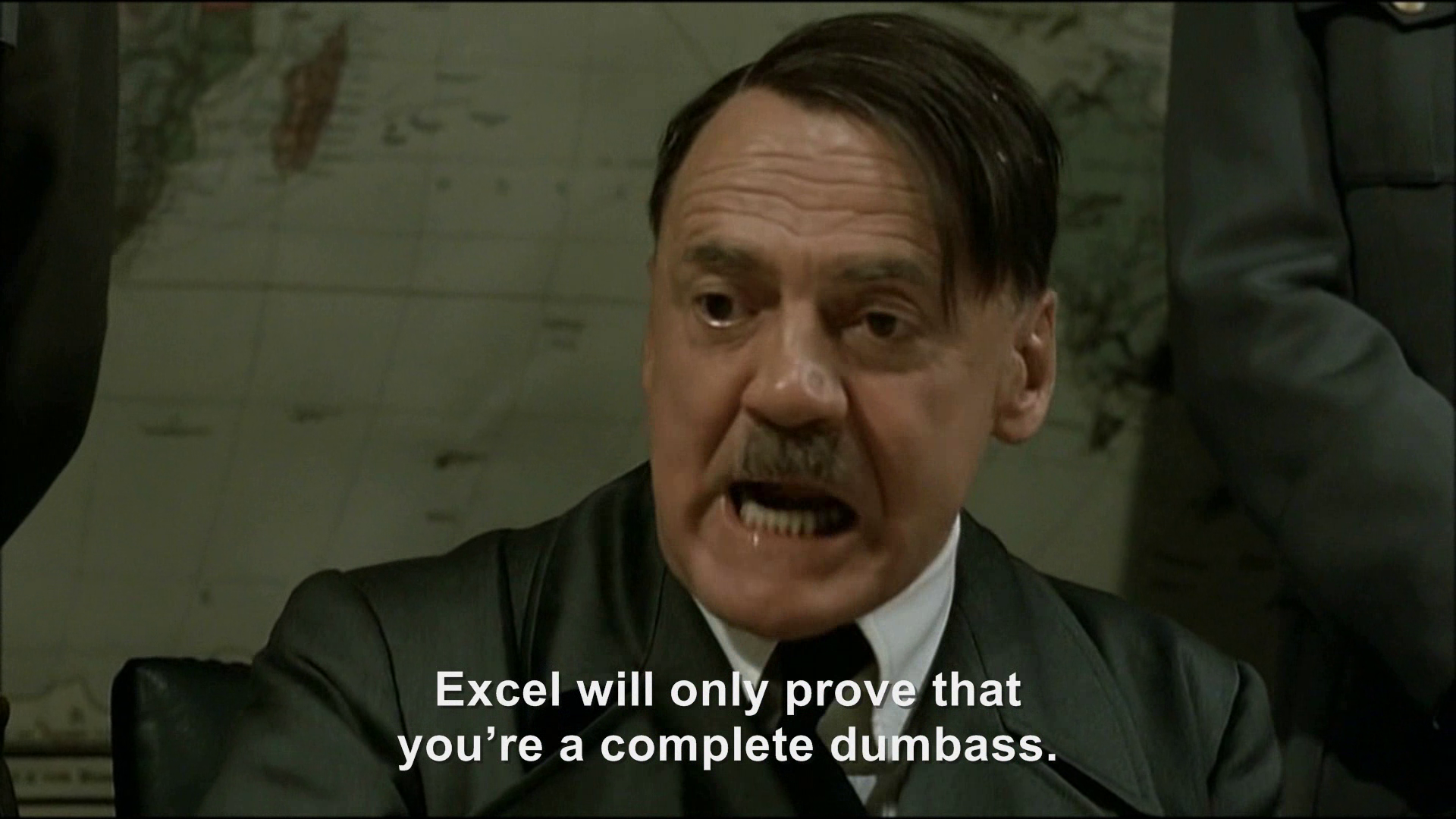Hitler plans to find out what 1+1=   Hitler Rants Parodies ...