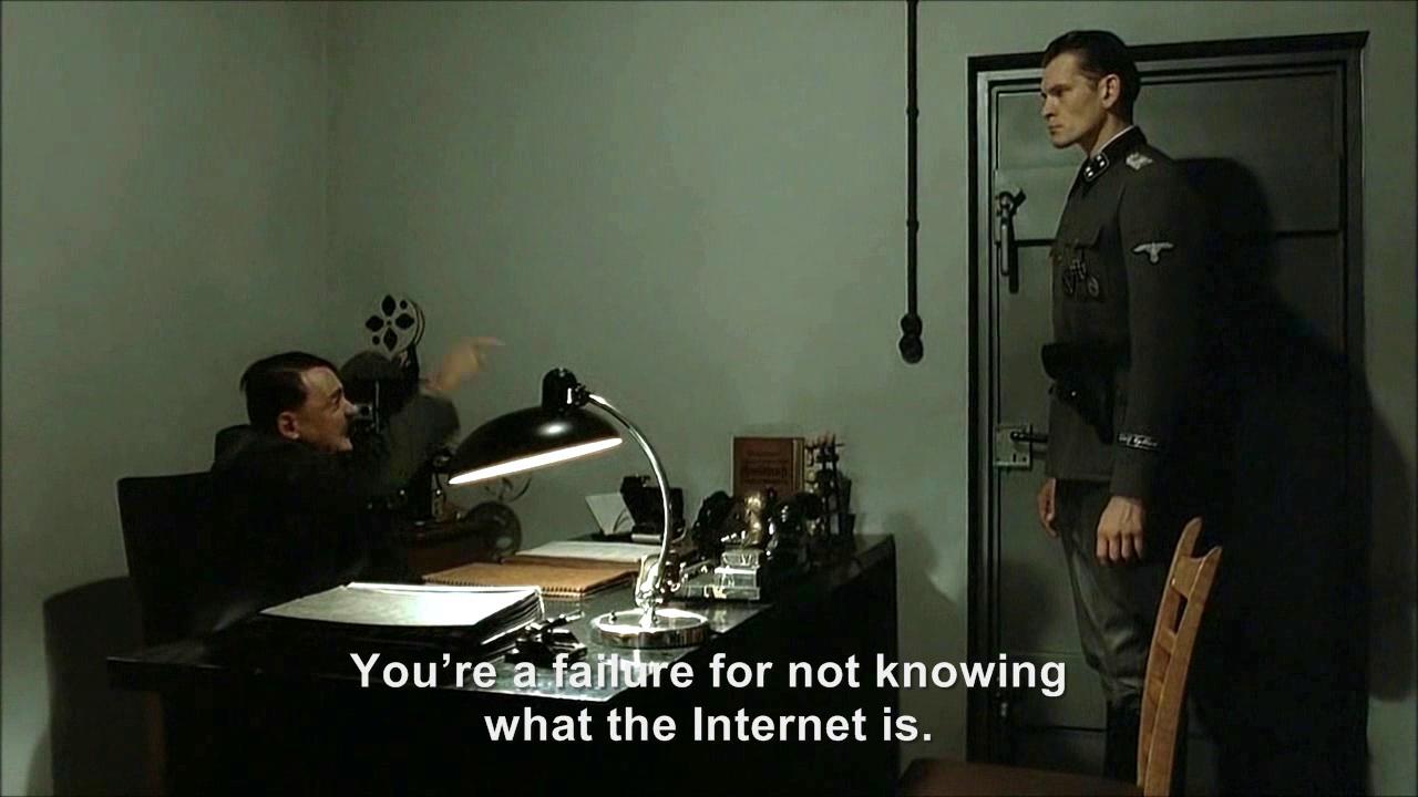 Image - Hitler is asked What is Internet.png   Hitler ...