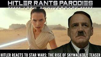Hitler reacts to Star Wars The Rise of Skywalker – Teaser