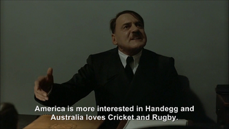 Hitler is informed Qatar will host the 2022 FIFA World Cup