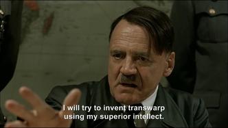 Hitler plans to invent warp drive