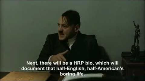 Hitler is informed about the Hitler Rants Parodies Wiki