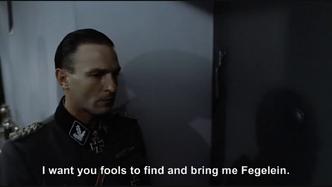 Hitler is informed by everyone