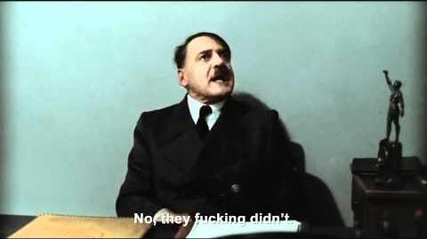 """Hitler is asked """"How was your Christmas?"""""""