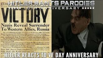 Hitler reacts to VE Day Anniversary