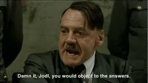 """Hitler appears on """"Who Wants To Be A Millionaire"""""""