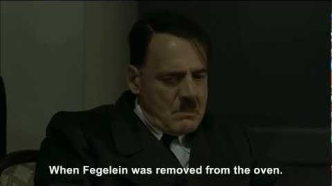Hitler is informed Göring has failed to eat Fegelein
