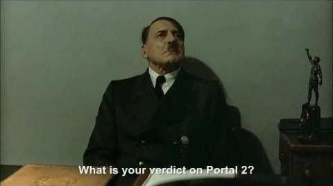 Hitler Reviews Portal 2