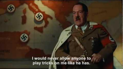 Hitler rants about Hitler