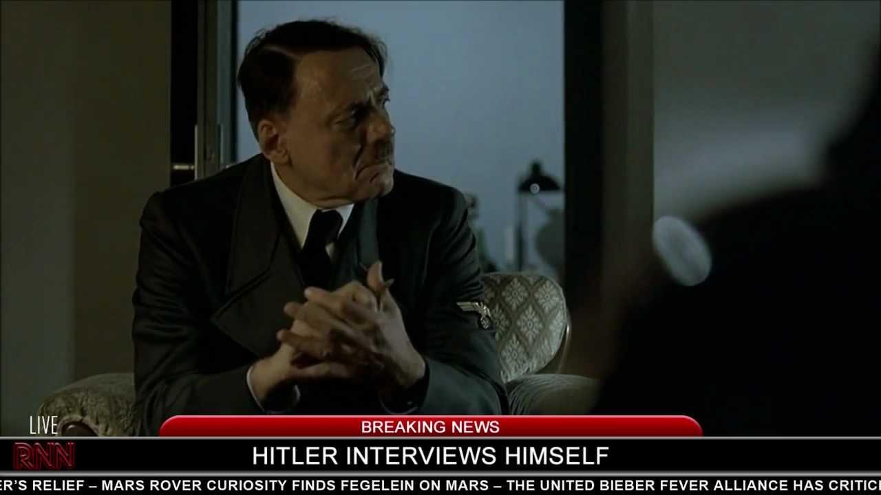 Hitler interviews himself   Hitler Rants Parodies Wiki ...