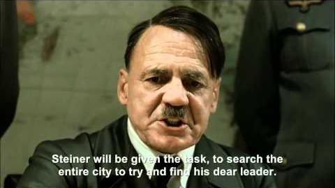 Hitler plans to find himself