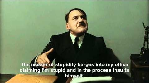 Hitler is informed he is stupid