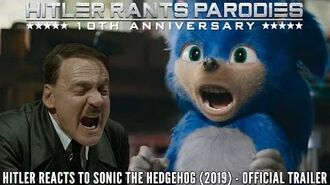 Hitler reacts to Sonic The Hedgehog (2019) - Official Trailer