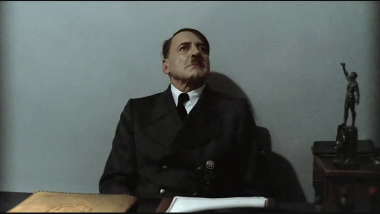 Hitler is informed about nothing and Hitler says nothing ...