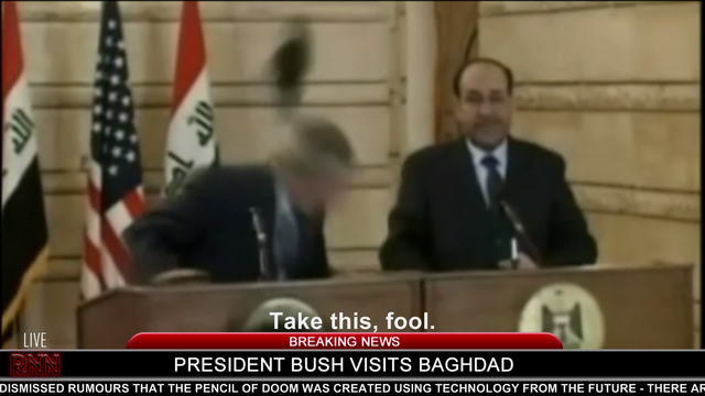 File:Hitler throws his shoes at President Bush.png