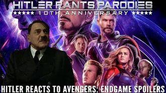 Hitler reacts to Avengers Endgame spoilers