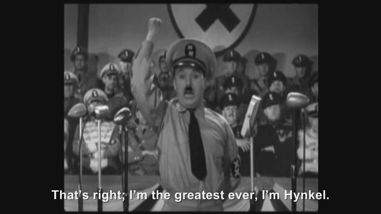 Hitler phones Hynkel   Hitler Rants Parodies Wiki   FANDOM ...