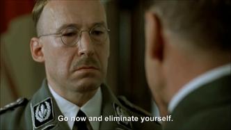 Hitler wants Himmler to eliminate himself