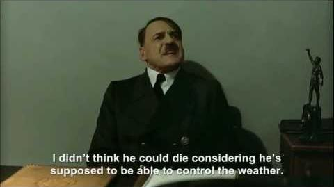 Hitler is informed Kim Jong-il is dead