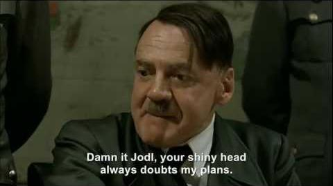 Hitler launches Fegelein into space