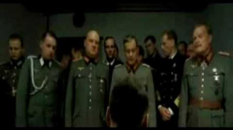 Hitler rants about only having baked beans left to eat
