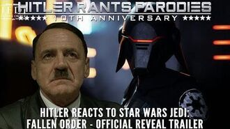 Hitler reacts to Star Wars Jedi Fallen Order - Official Reveal Trailer