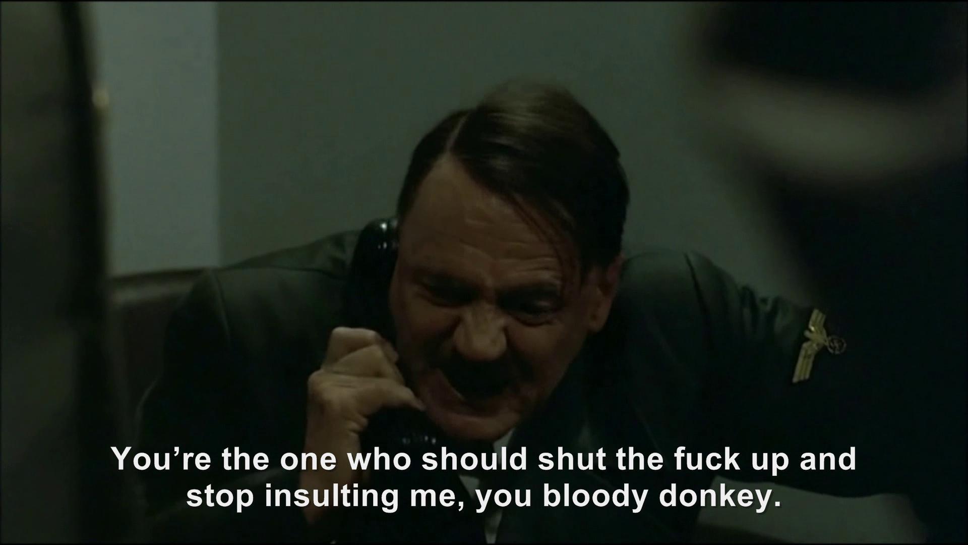 Hitler phones Gordon Ramsay   Hitler Rants Parodies Wiki ...