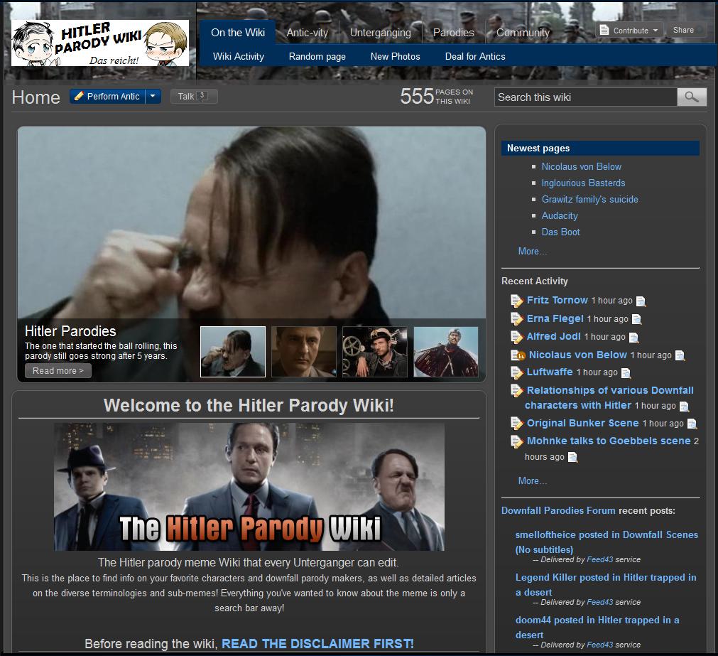 Hitler Parody Wiki   Hitler Rants Parodies Wiki   Fandom