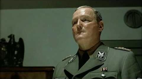 Hitler ignores Grawitz and Günsche
