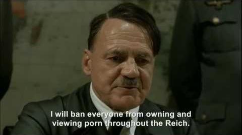 Hitler plans to ban porn